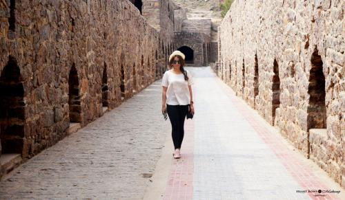 OOTD: A Casual Day Out at Golconda Fort, Hyderabad