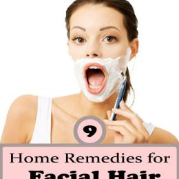 Home Remedies To Get Rid Of Facial Hair Naturally