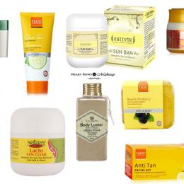 Best Sun Tan Removal Products in India: Our Top 10!