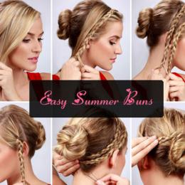 Easy Bun Hairstyle Tutorials For The Summers: Top 10!