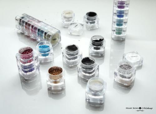 Faces Sparkle Dust Stackables Review & Swatches: Glitter, Wild, Whish & Zebra
