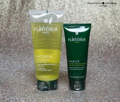 Rene Furterer KARITE Intense Nourishing Mask + NATURIA Gentle Balancing Shampoo Review