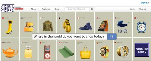 Shopping Internationally Made Easier With Shop & Ship