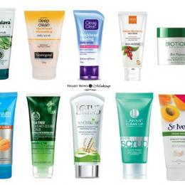 Best Face Scrubs For Oily Skin & Blackheads in India: Our Top 10
