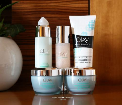 New Skincare Routine ft. Olay White Radiance Range