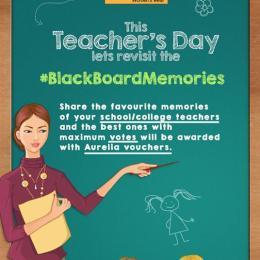 Share Your #BlackBoardMemories & Win Aurelia Vouchers!