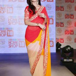 HomeShop18 launches Shilpa Shetty Kundra Range Of Sarees