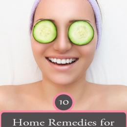 10 Natural Home Remedies To Remove Dark Circles