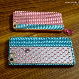 DIY: How to Make a Blingy Phone Cover!
