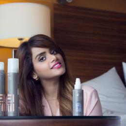 WELLA Professionals EIMI Hairstyling Range Review: Dry Me, Root Shoot & Perfect Me BB Lotion
