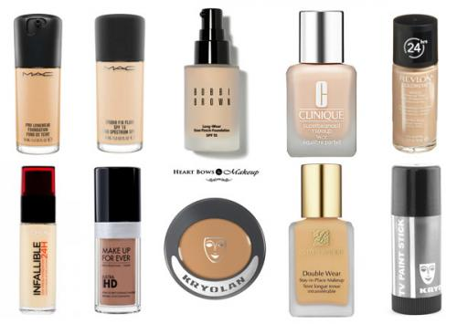 10 Best High Coverage Foundations For Dry & Oily Skin