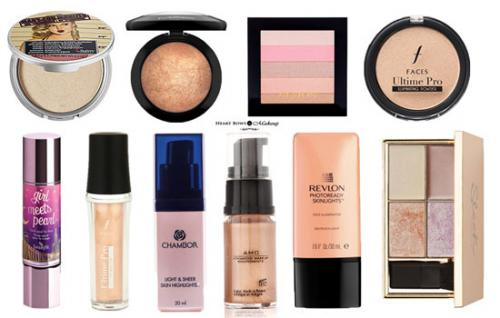 10 Best Powder & Liquid Highlighters In India: Affordable & High End Options!