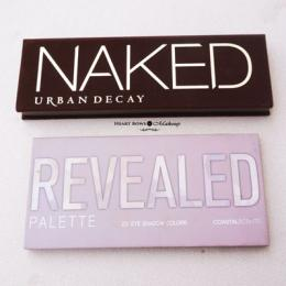 Dupe That: Urban Decay Naked Palette v/s Coastal Scents Revealed Palette