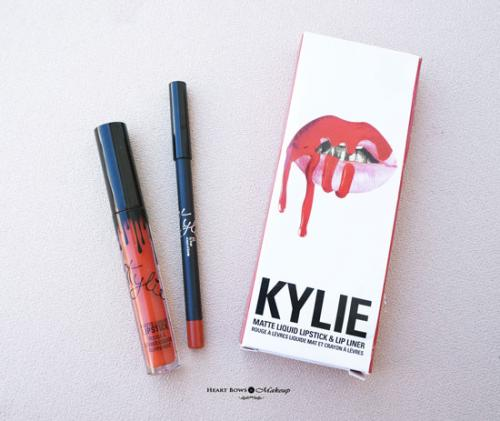 Kylie Cosmetics Lip Kit 22 Review, Swatches & Price