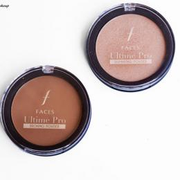 Faces Ultime Pro Illuminating & Bronzing Powder Review, Swatches & Price