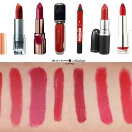 10 Best Matte Red Lipsticks In India: Review, Swatches & Prices