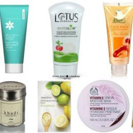 10 Best Face Masks For Dry Skin In India: Mini Reviews & Prices