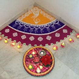 20 Best Small Rangoli Designs & Patterns for Beginners!
