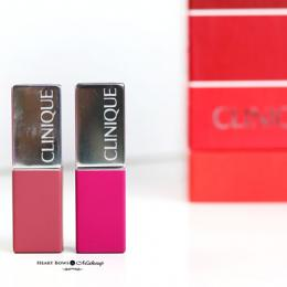 Clinique Pop Matte Lip Colour + Primer Review, Swatches, Price & Buy India