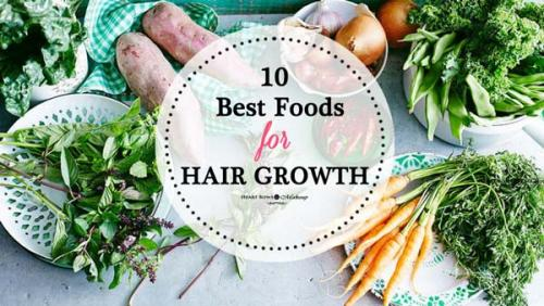 Best Foods for Hair Growth & Thickness