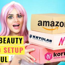 HUGE Nykaa & Amazon Haul: Face Art,Video Equipment etc.