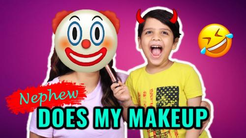 My Nephew Does My Makeup!