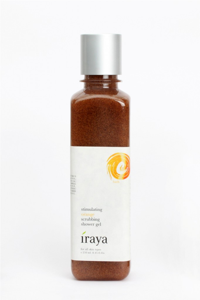 Iraya Stimulating Orange Scrubbing Shower Gel Review Price India