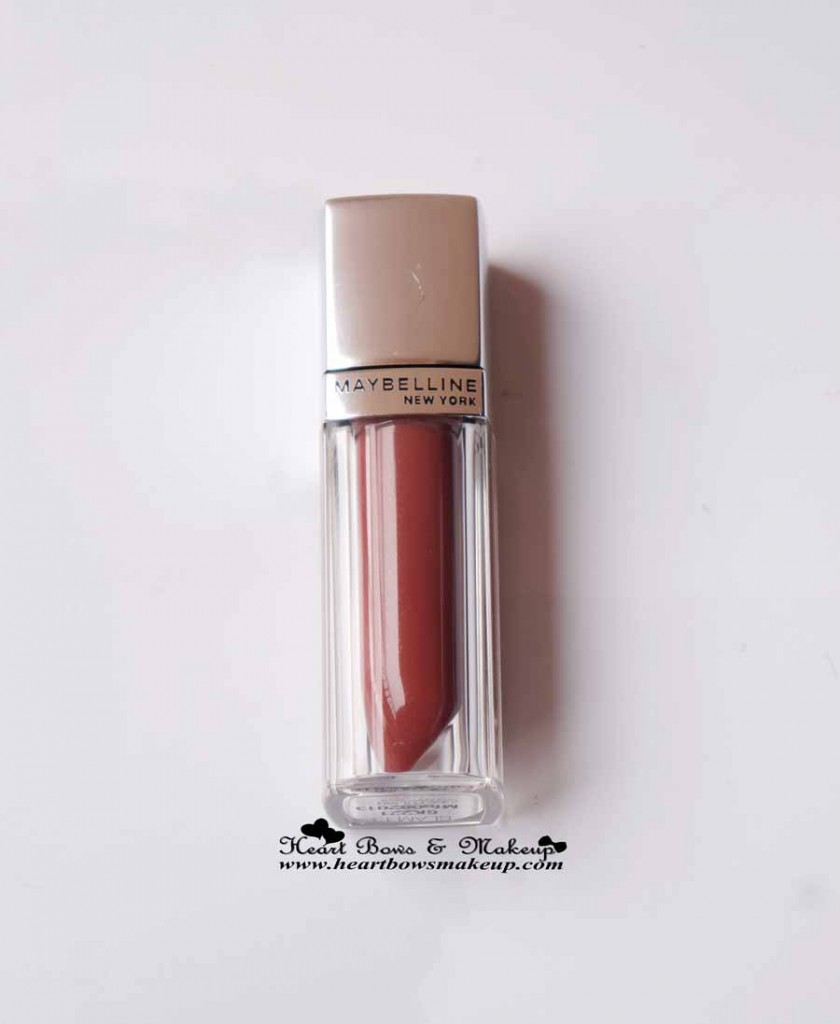 Maybelline Lip Polish Glam 13 Review Swatches