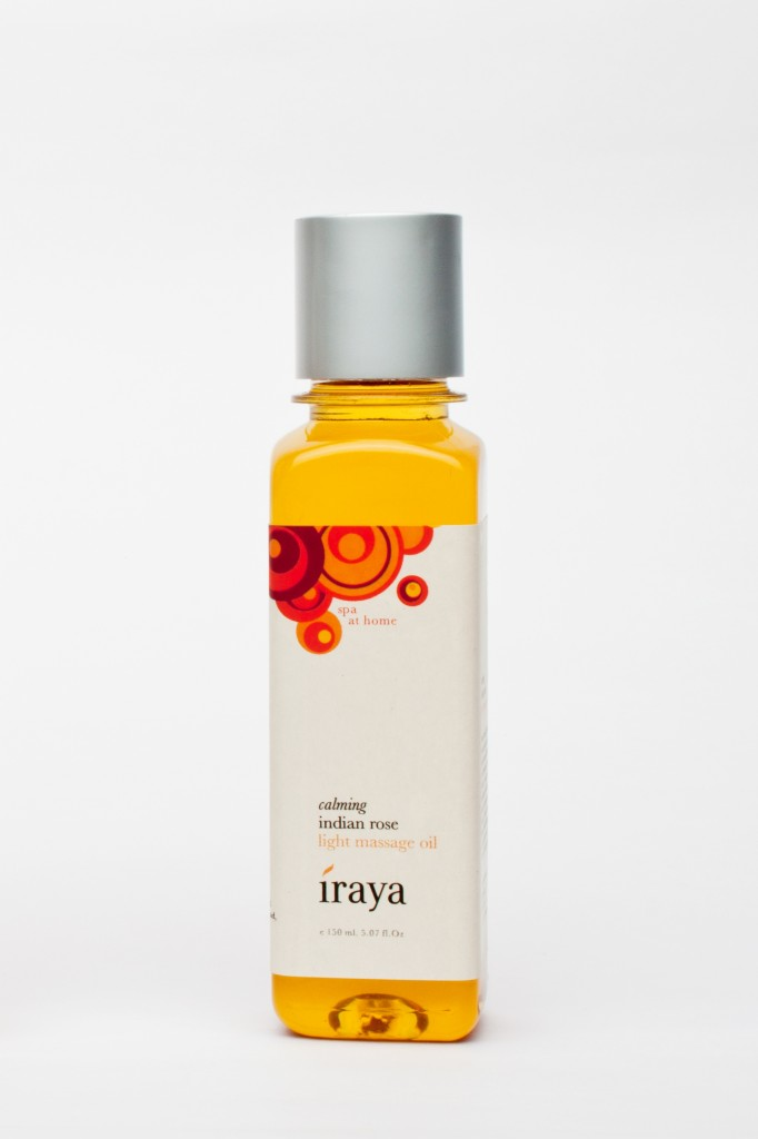 Iraya Calming Light Massage Oil- Indian Rose review price india