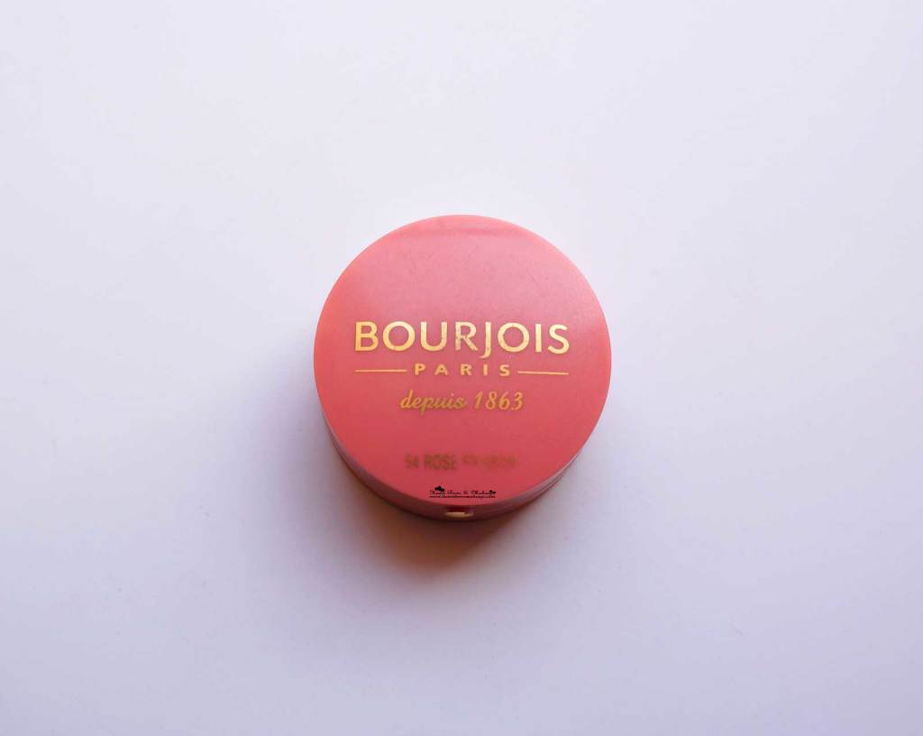 Bourjois Rose Frisson 54 Blush Review Swatches Price India