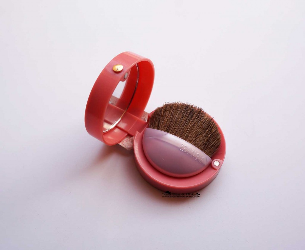 Bourjois Rose Frisson Blush Review