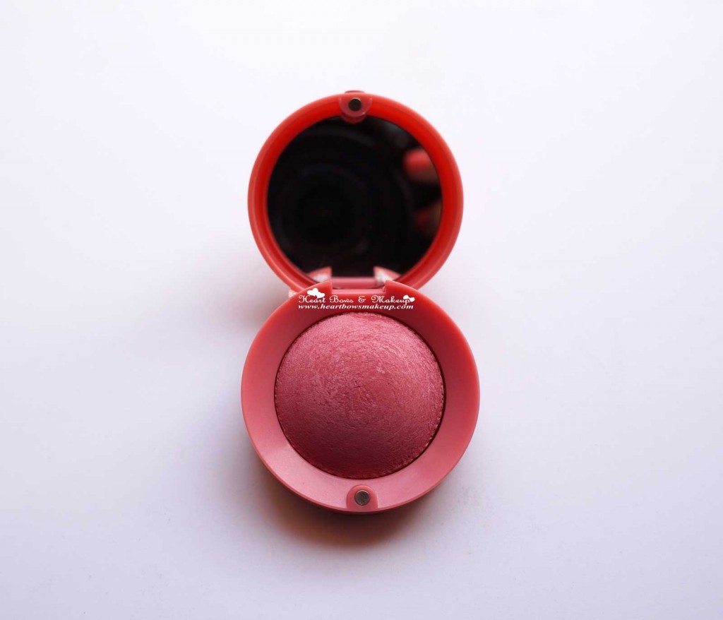 Bourjois Rose Frisson Baked Blush Review buy online India