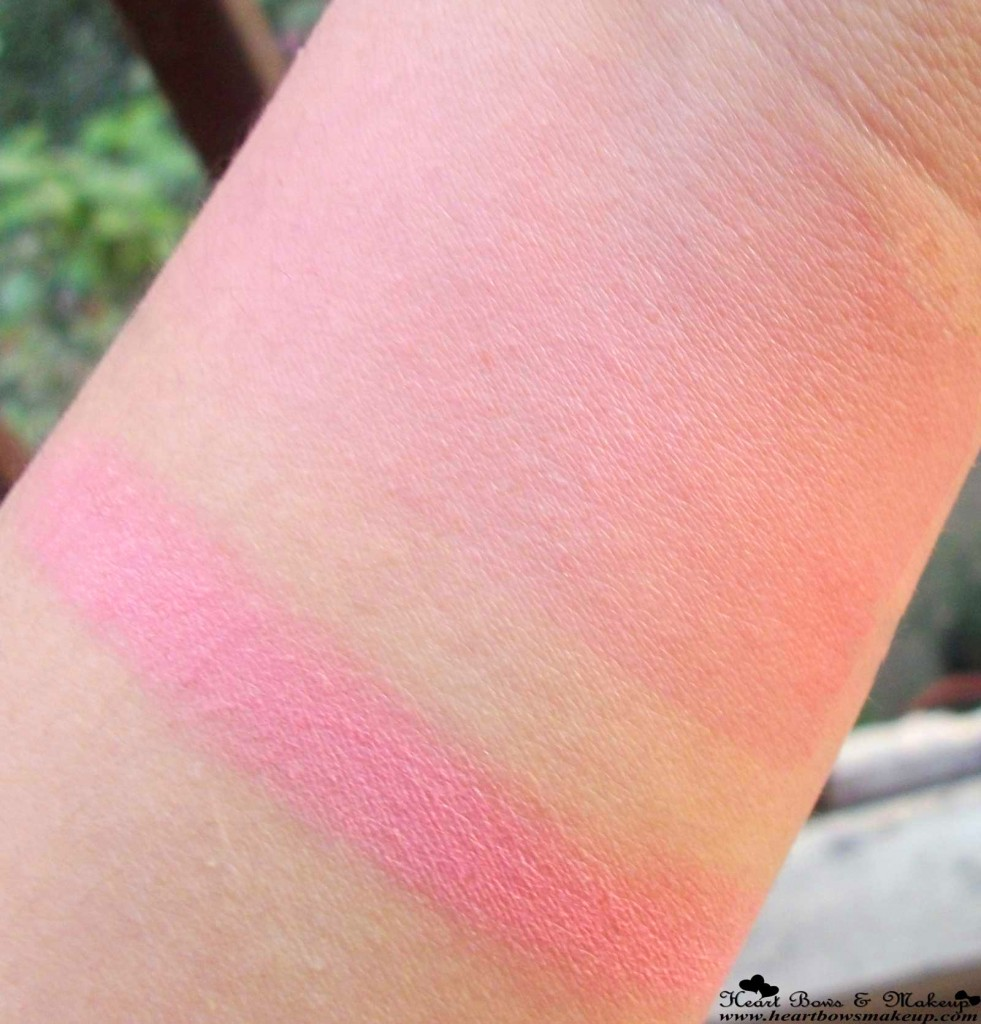 Bourjois Rose Frisson Blush Swatches & Review