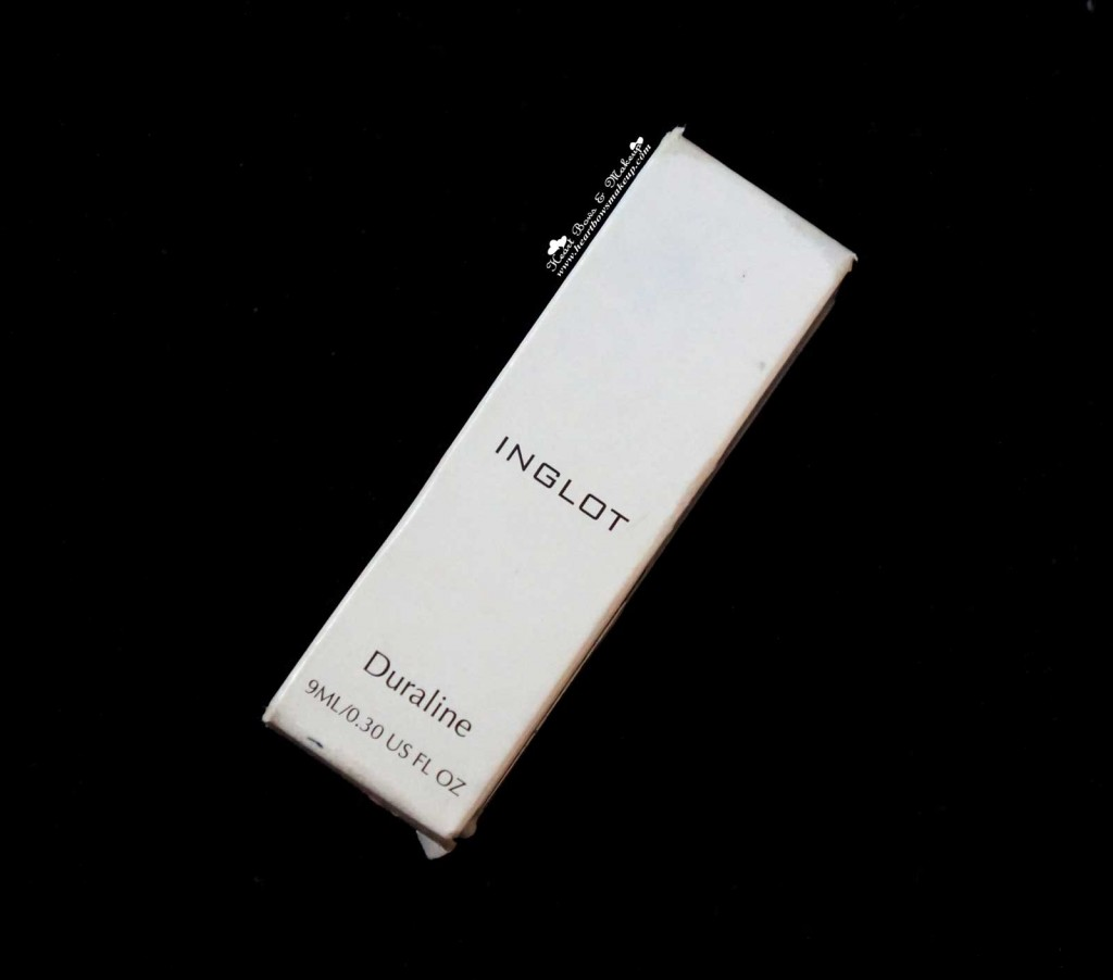 Inglot Duraline Review Price