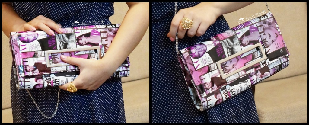 indian fashion blog graphic clutch valentine's day look