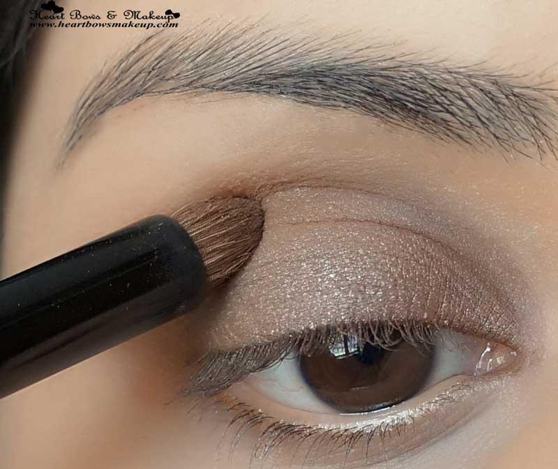 smokey brown eyes tutorial valentine's day eyemakeup tutorial