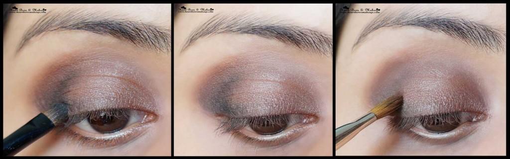 soft smokey brown eyemakeup tutorial valentine's day eyemakeup tutorial
