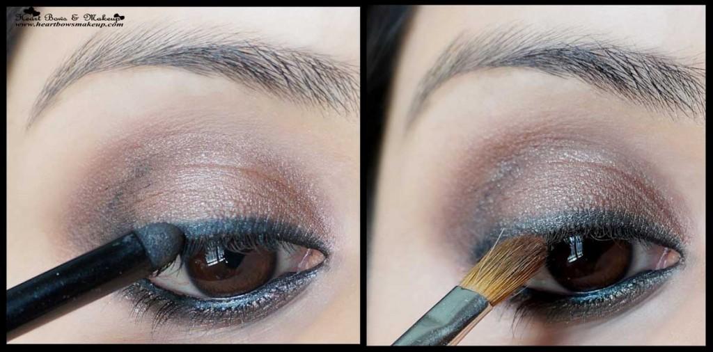 smokey brown eyemakeup tutorial indian eyemakeup