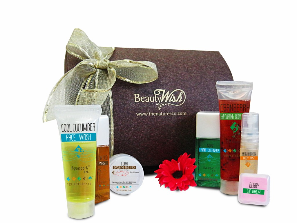 the natures co beauty wish box march products