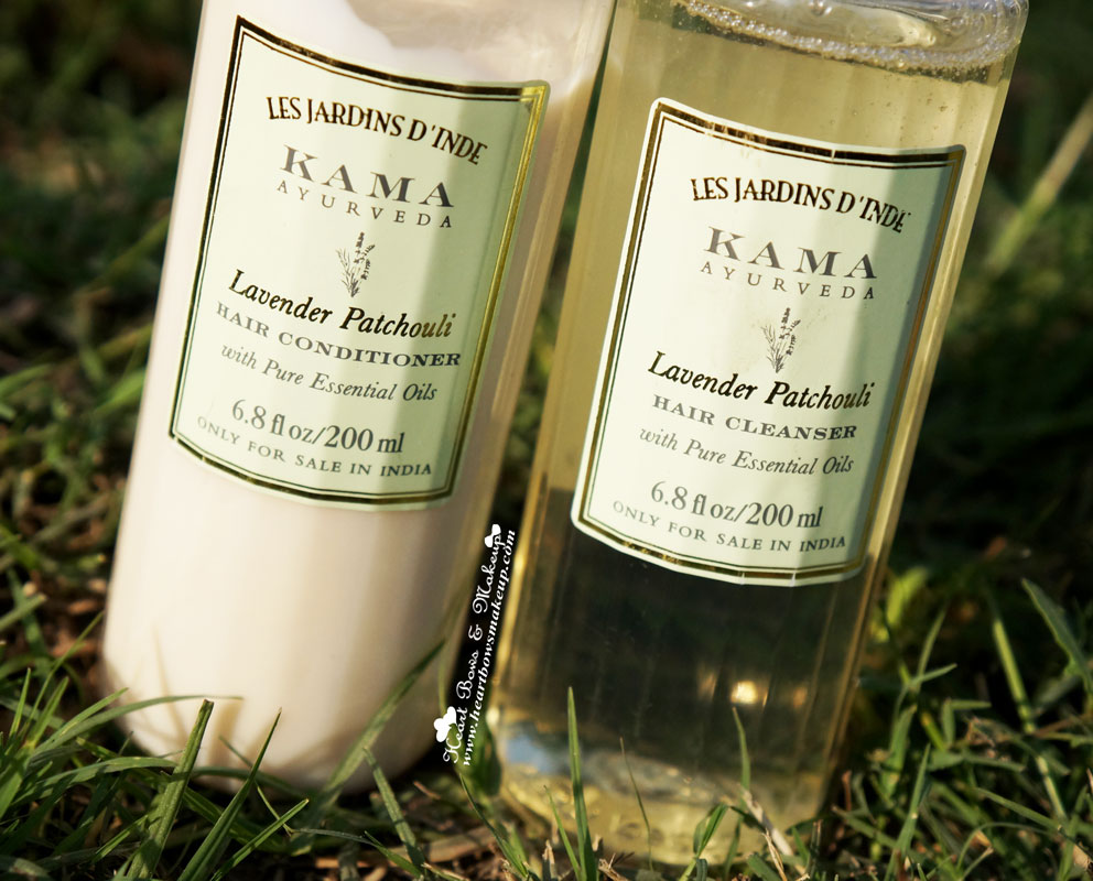 Kama Ayurveda Lavender Patchouli Cleanser Shampoo Conditioner Review