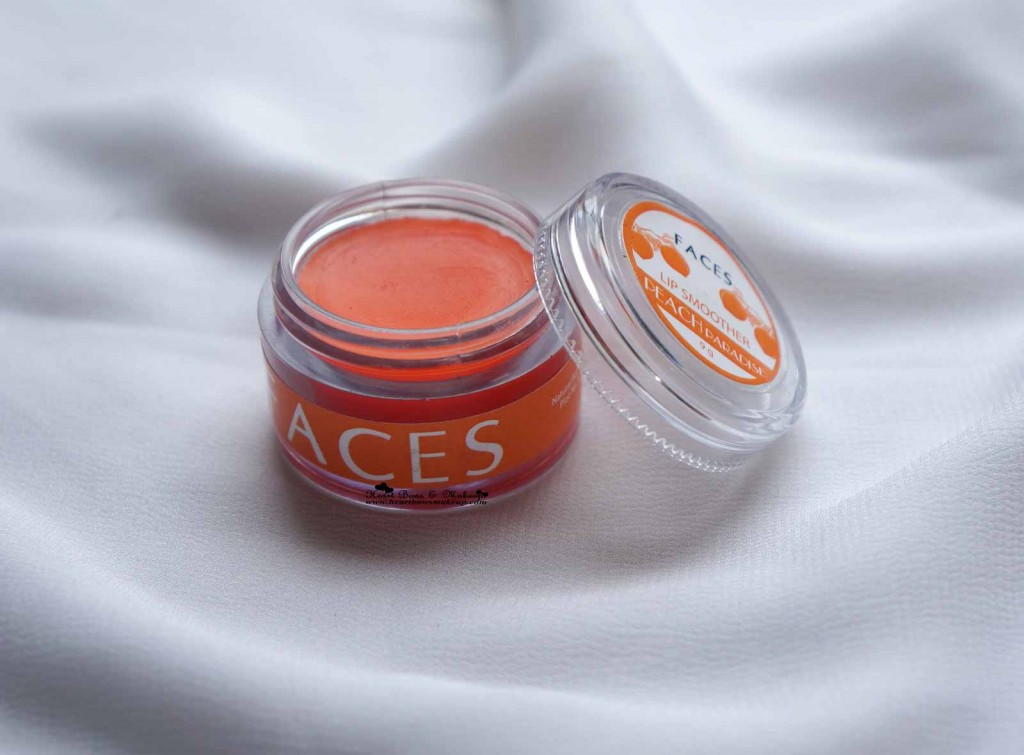 Faces Canada Lip Smoother Peach Pleasure Review Price India