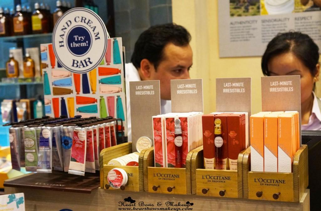 Loccitane Store-Delhi Pics!