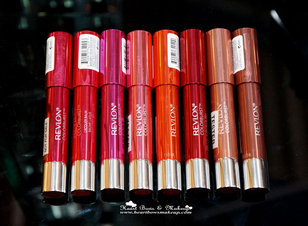 Revlon Colorburst Lacquer Balm Lip Crayon Review Swatches Price India
