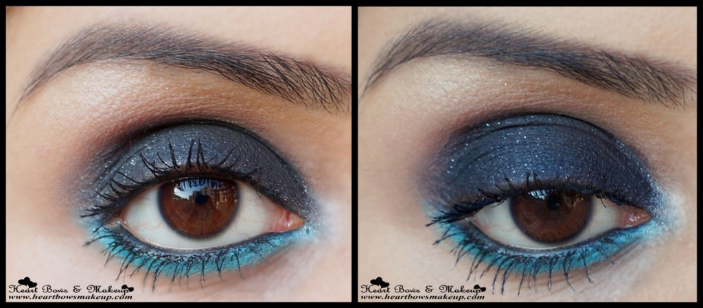 Revlon Colorstay ShadowLinks Onyx Swatches Eyemakeup Review