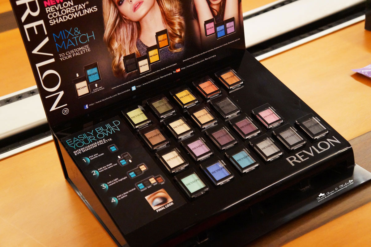 all revlon colorstay shadowlinks eyeshadow swatches