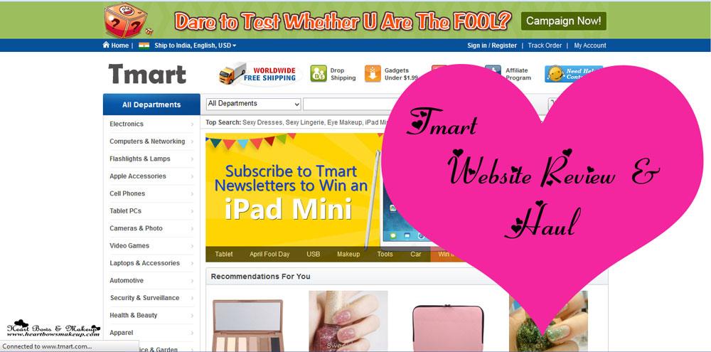 Tmart Website Review Haul