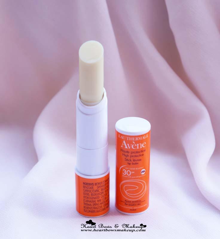 Avene High Protection Lip Balm SPF 30 Review: Lip Balm With High SPF
