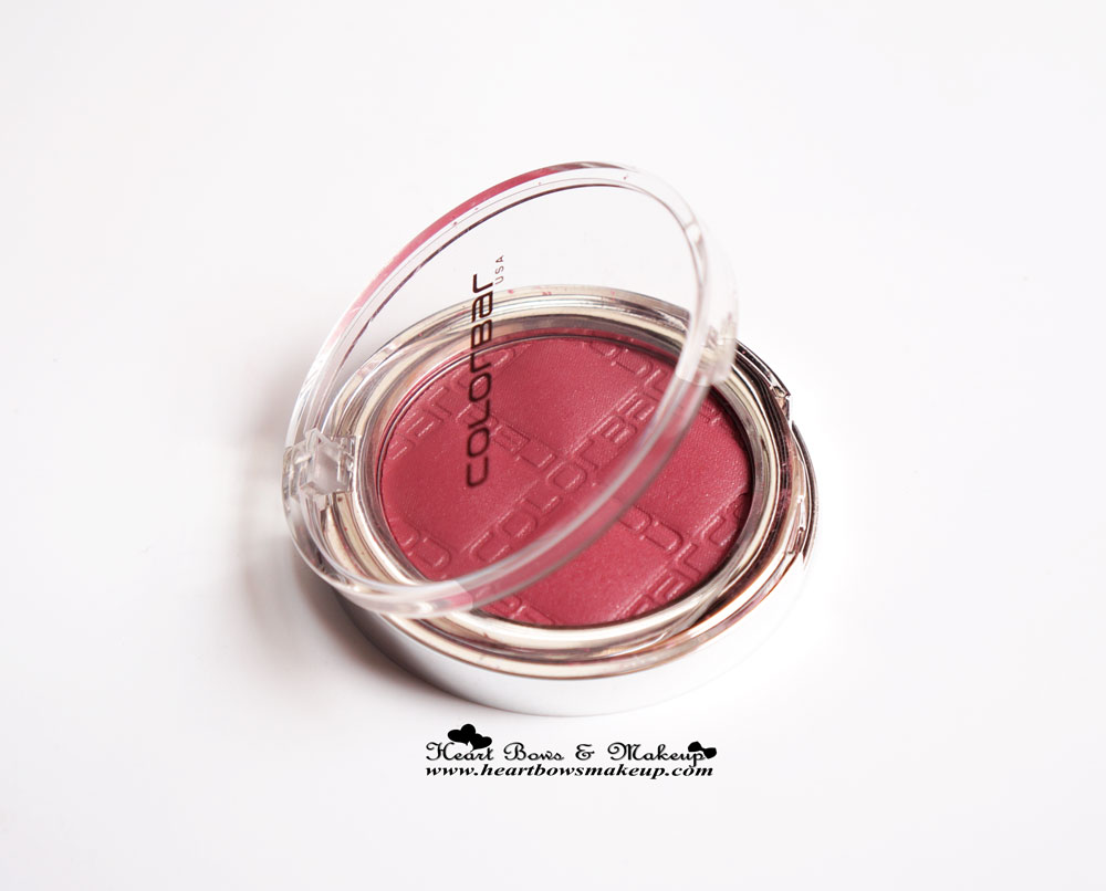 Colorbar Blush Everything's Rosy Review & Swatches
