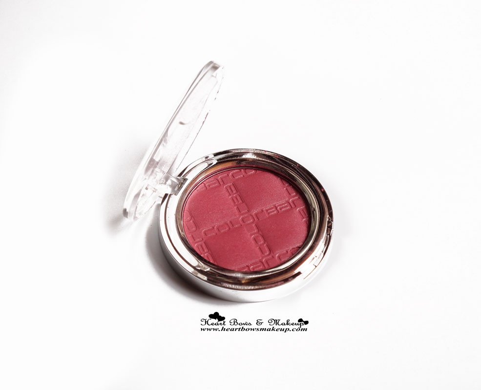 Colorbar Blush Review, Swatches & Price