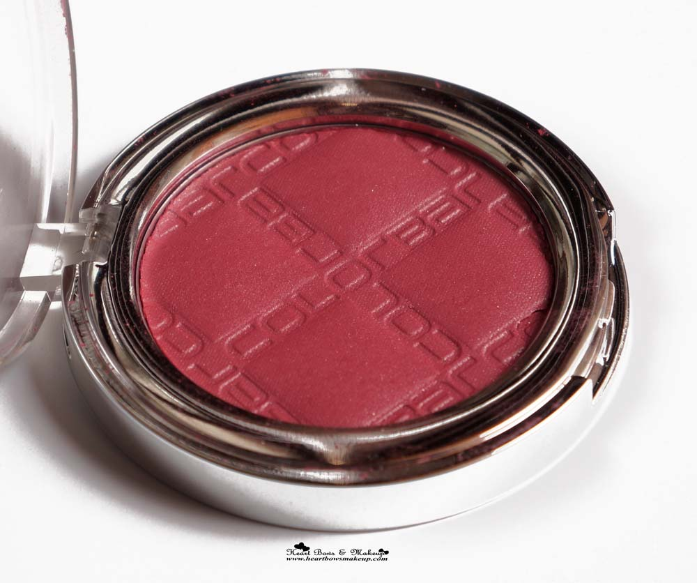 Colorbar Cheek Illusion Blush Review, Swatches & Price-7